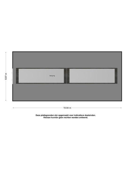 't Hoekske 2, Berkel-Enschot plattegrond-