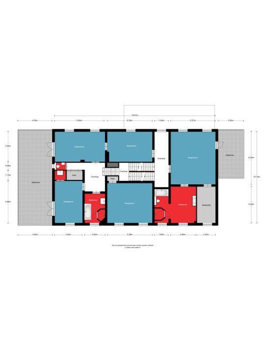 Burgemeester van Erpstraat 46, Berghem plattegrond-
