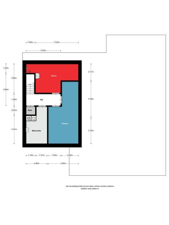 Boterbloem 34, Berghem plattegrond-