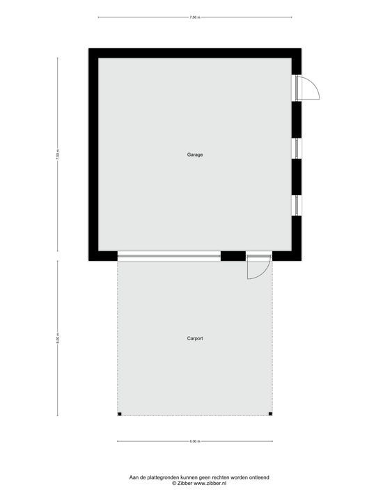Penningkruid 23, Berghem plattegrond-