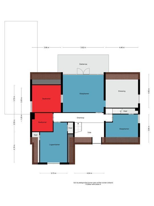 Beukenlaan 23, Heesch plattegrond-