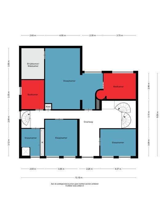 Burgemeester van den Elzenlaan 15 - 17, Oss plattegrond-