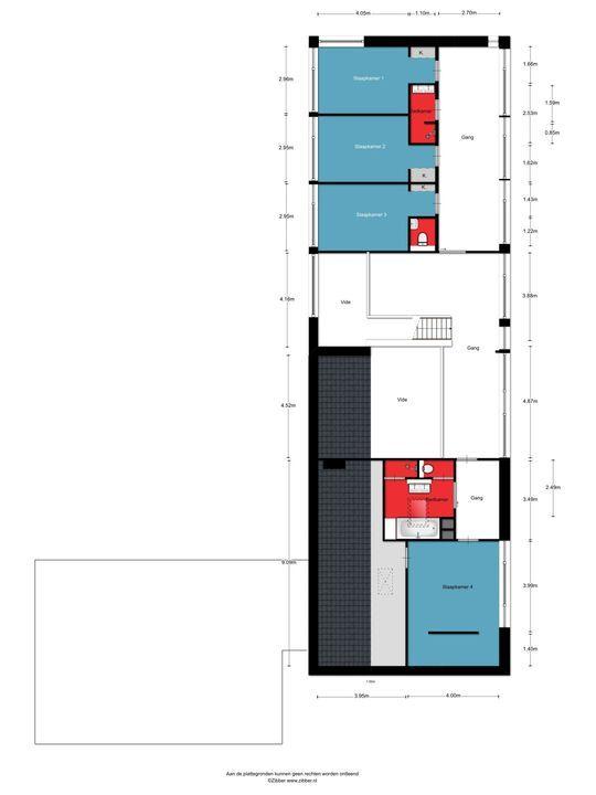 Sint-Janskruid 20, Berghem plattegrond-