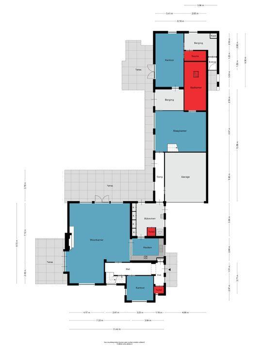 Titus Brandsmalaan 8, Oss plattegrond-