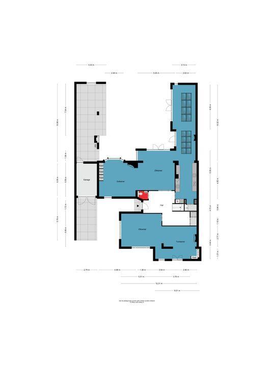 Beatrixlaan 7, Oss plattegrond-