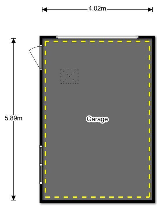 Straatweg 262, Rotterdam plattegrond-