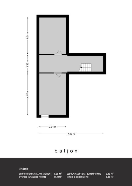 Willem de Zwijgerlaan 23, Schiedam plattegrond-