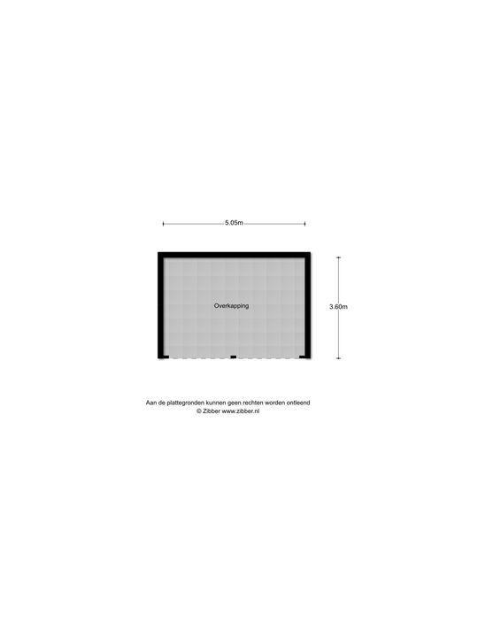Zuidersingel 64 B, Berkel En Rodenrijs plattegrond-