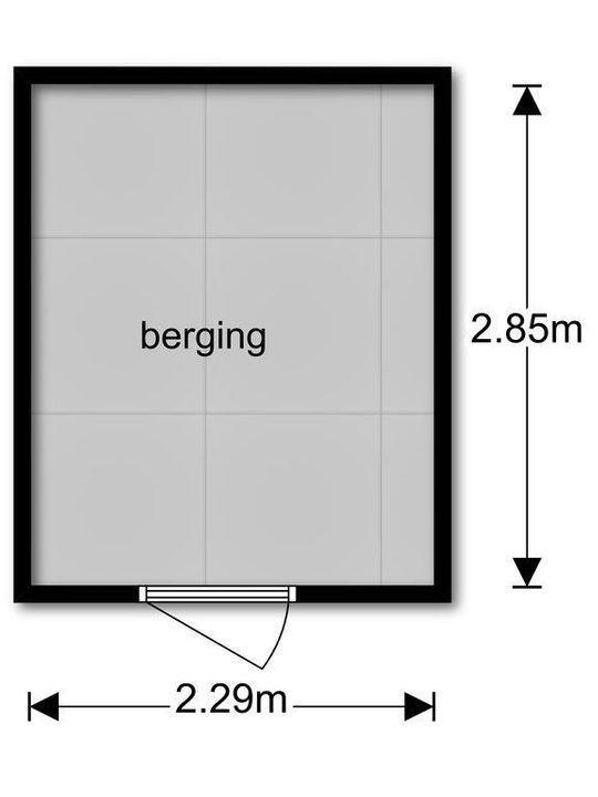 Perenhof 1, Bergschenhoek plattegrond-