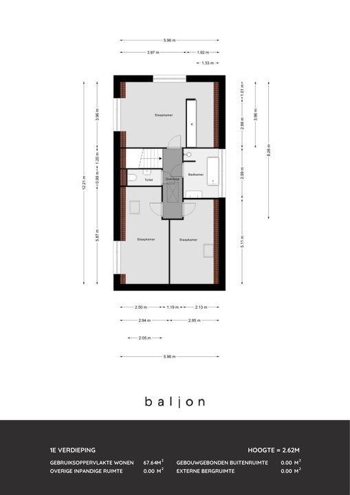 Zuidersingel 102 A, Berkel En Rodenrijs plattegrond-