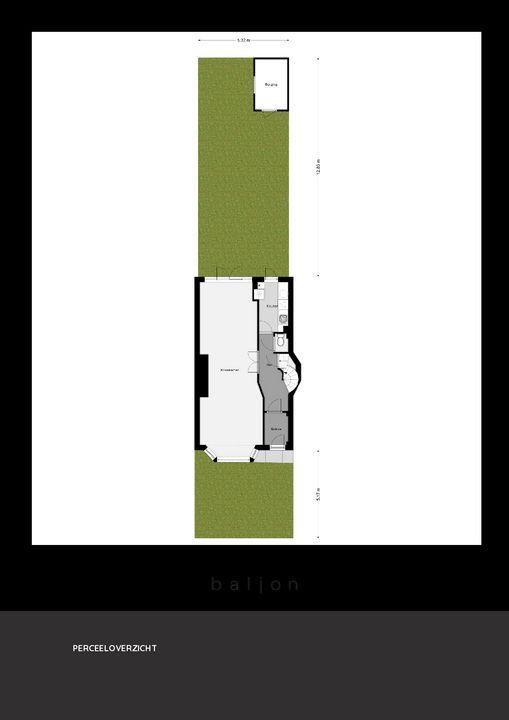 Lijsterlaan 8, Rotterdam plattegrond-