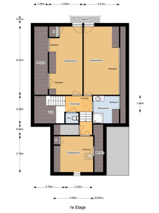 Duinzoom 7, Oostvoorne plattegrond-