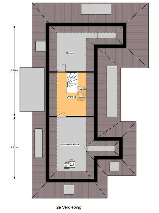 IJsvogellaan 17, Oostvoorne plattegrond-