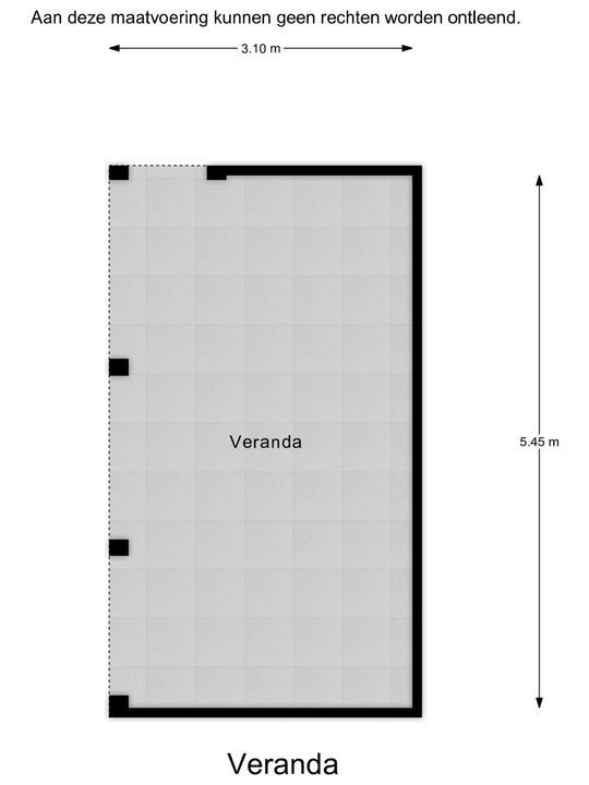 Volantestraat 32, Hellevoetsluis plattegrond-