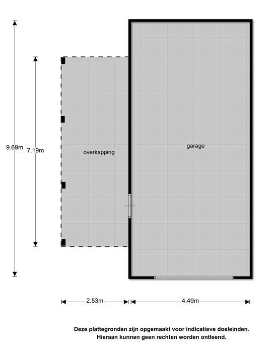 Foarwei 198, Kollumerzwaag plattegrond-