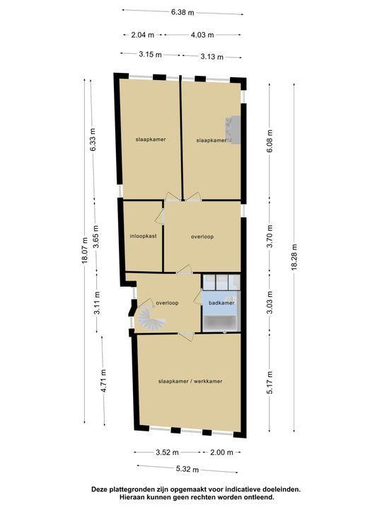 Zilverstraat 26, Franeker plattegrond-