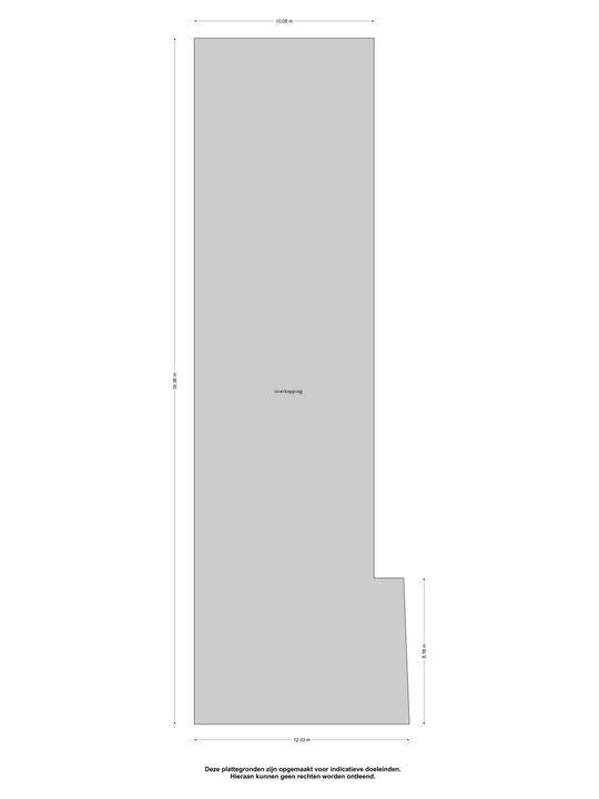 Ljouwerterdyk 59, Akkrum plattegrond-