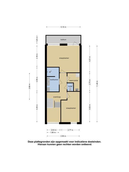 Romkeslaan 10, Leeuwarden plattegrond-