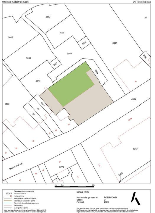 Swalmerstraat 59 C, Roermond plattegrond-