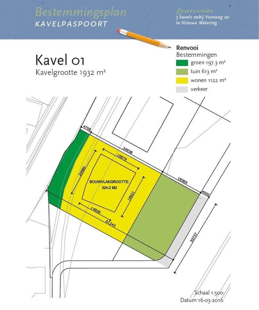 Losserweide- Voorweg, bouwnummer 1 ong, Nieuwe Wetering foto-