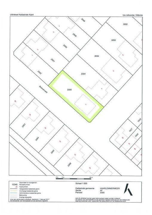 Frederiksveld 2, Nieuw-Vennep plattegrond-