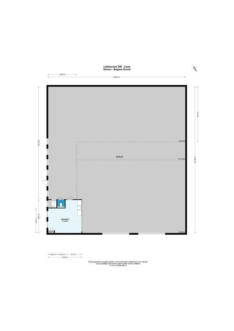 Leidsevaart 24 E & D, Lisse foto-