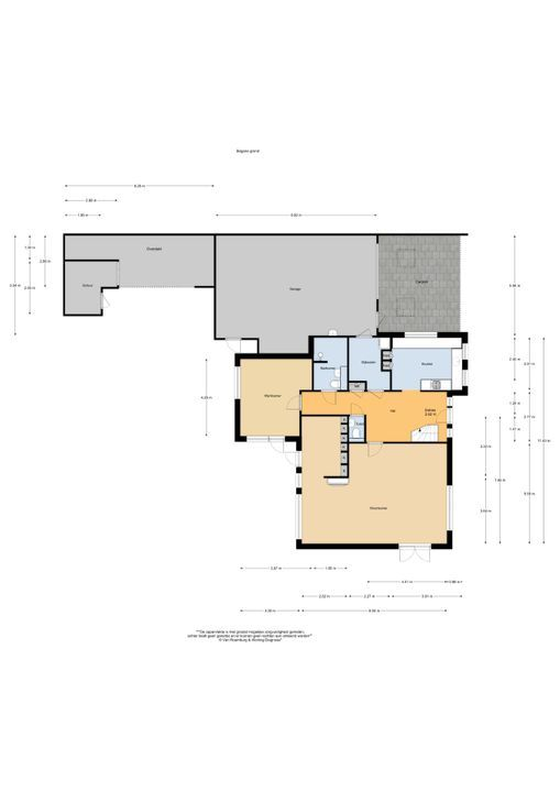 Meinwerkstraat 26, Putten plattegrond-