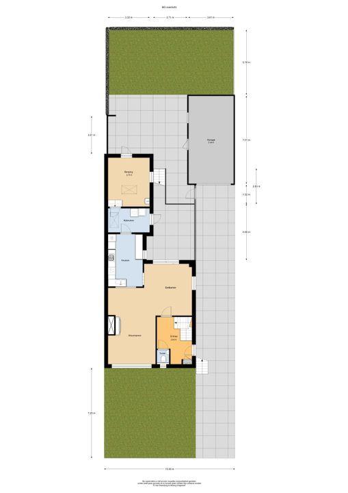 van Weesstraat 3, Putten plattegrond-