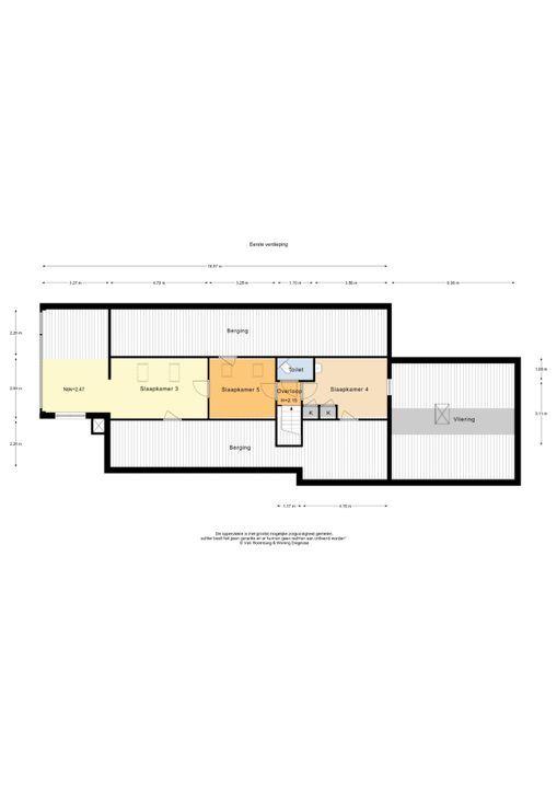 Burg Roosmale Nepveulaan 11 A, Putten plattegrond-
