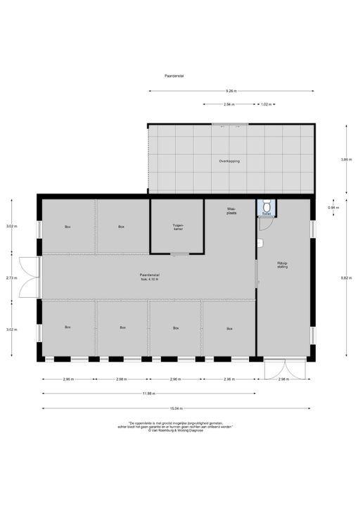 Oud Milligenseweg 65, Garderen plattegrond-