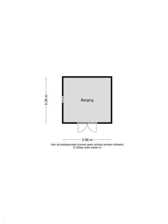 Dorpsdijk 42 a, Rhoon plattegrond-