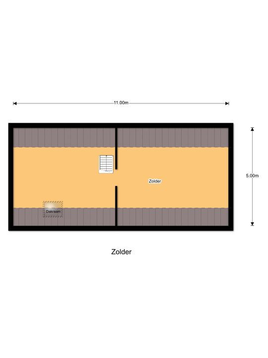 Hogeschoollaan 235, Tilburg plattegrond-