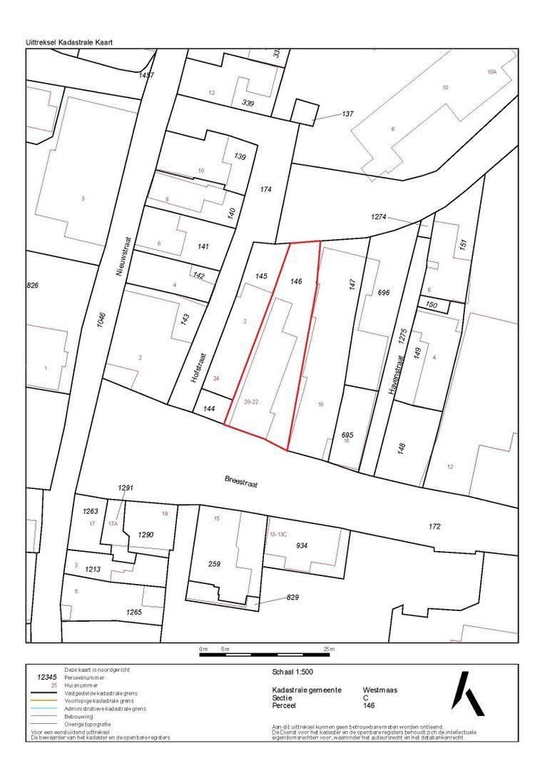 Breestraat 20 + 22 plattegrond-33