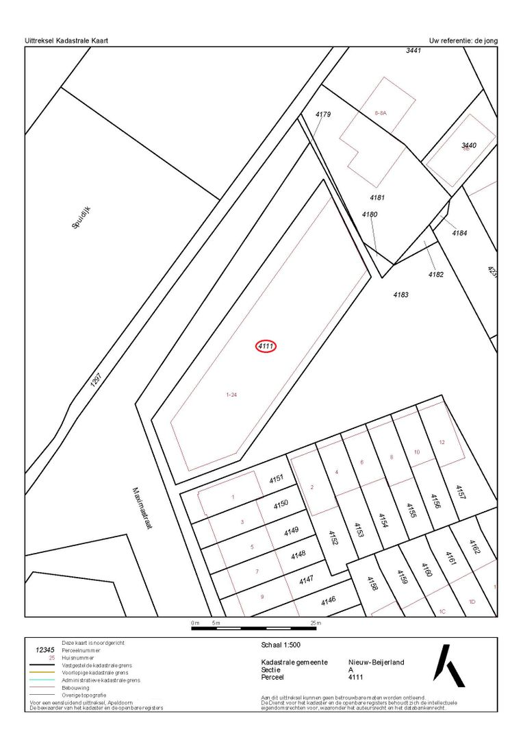 Amaliapad 1 plattegrond-37