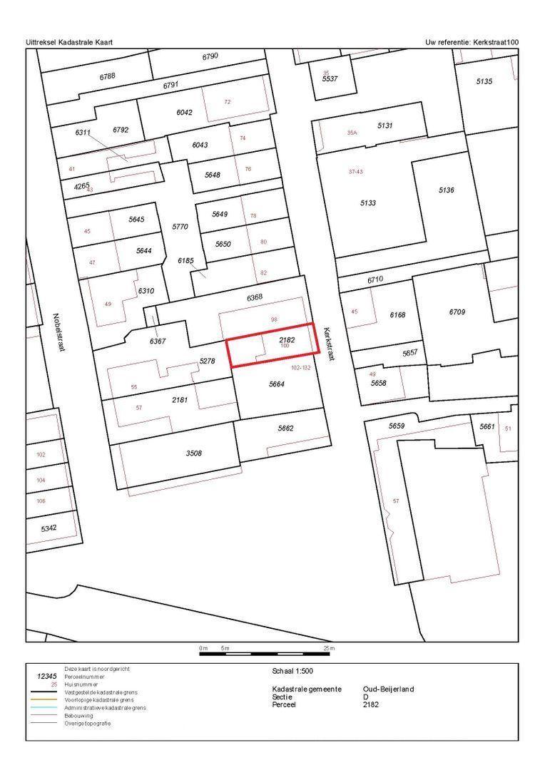 Kerkstraat 100 plattegrond-14
