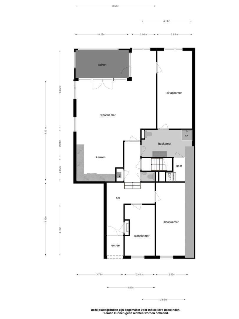 Dorpsstraat 51 plattegrond-12