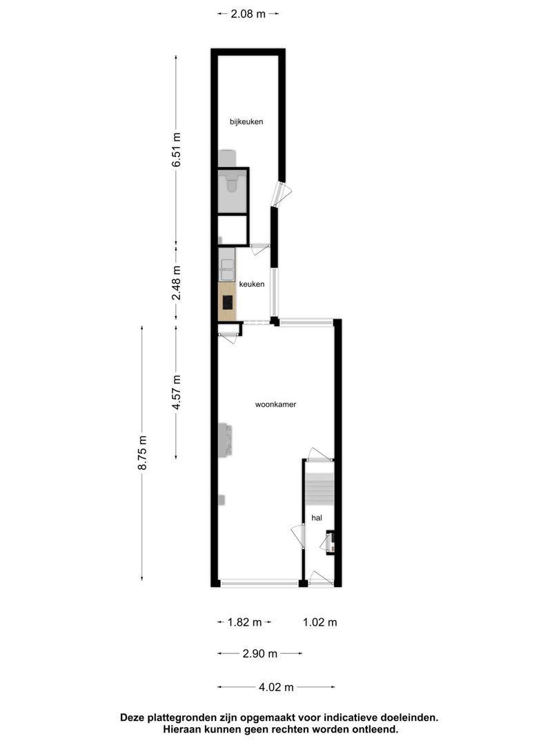 Admiraal de Ruyterstraat 105 plattegrond-21