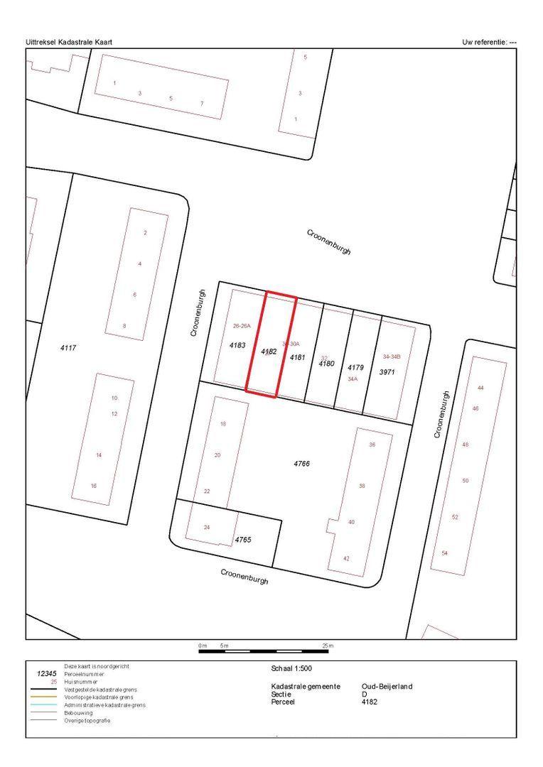 Croonenburgh 28 plattegrond-14
