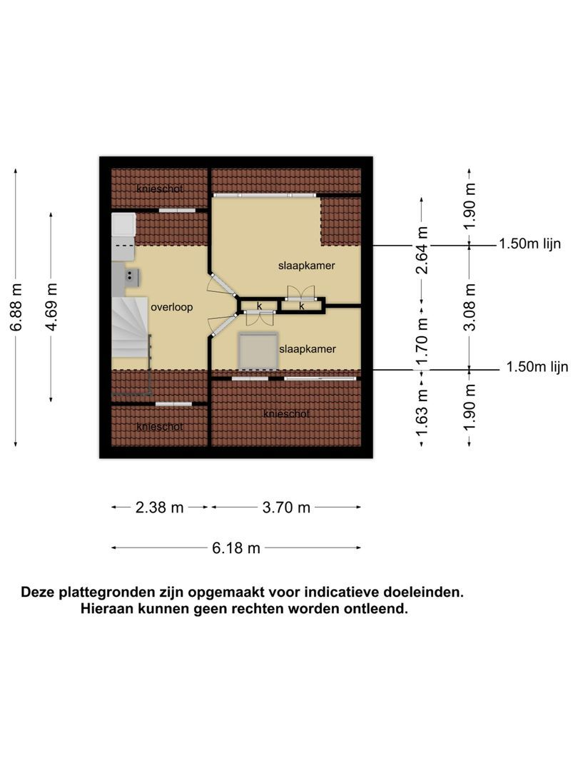 van Almondestraat 8 plattegrond-19