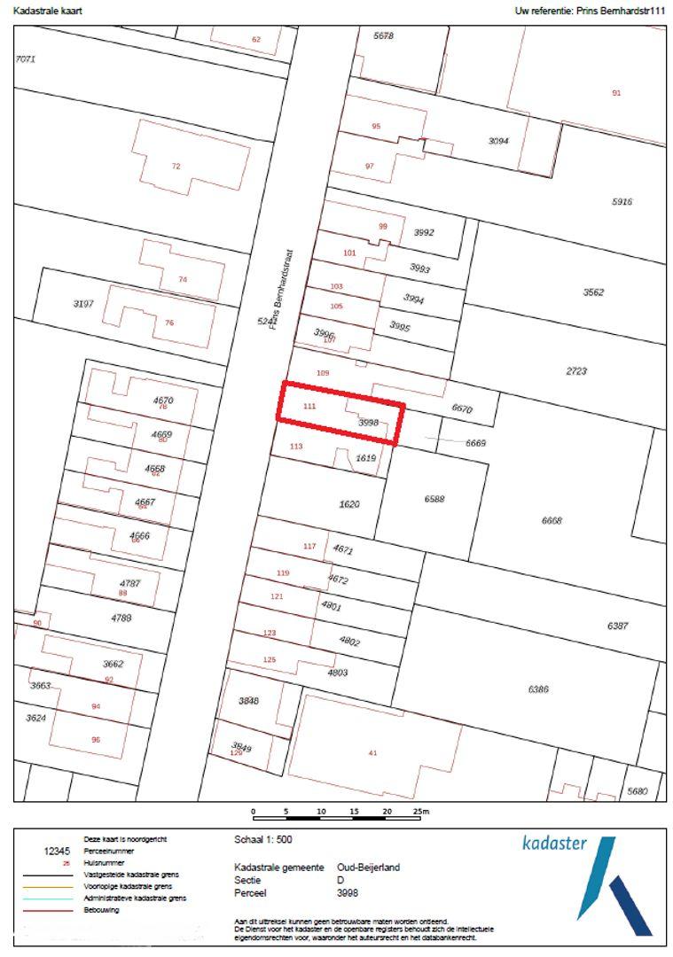 Prins Bernhardstraat 111 plattegrond-20