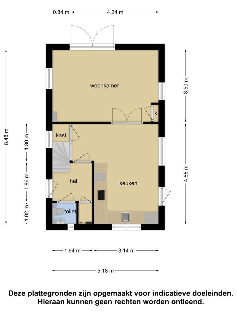 Beatrixstraat 5 plattegrond-22