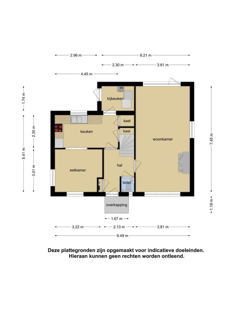 Admiraal de Ruyterstraat 88 plattegrond-29