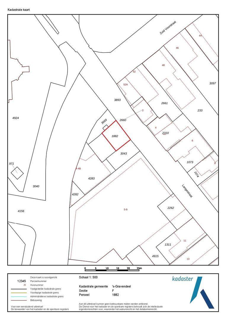 Langestraat 3 b plattegrond-16