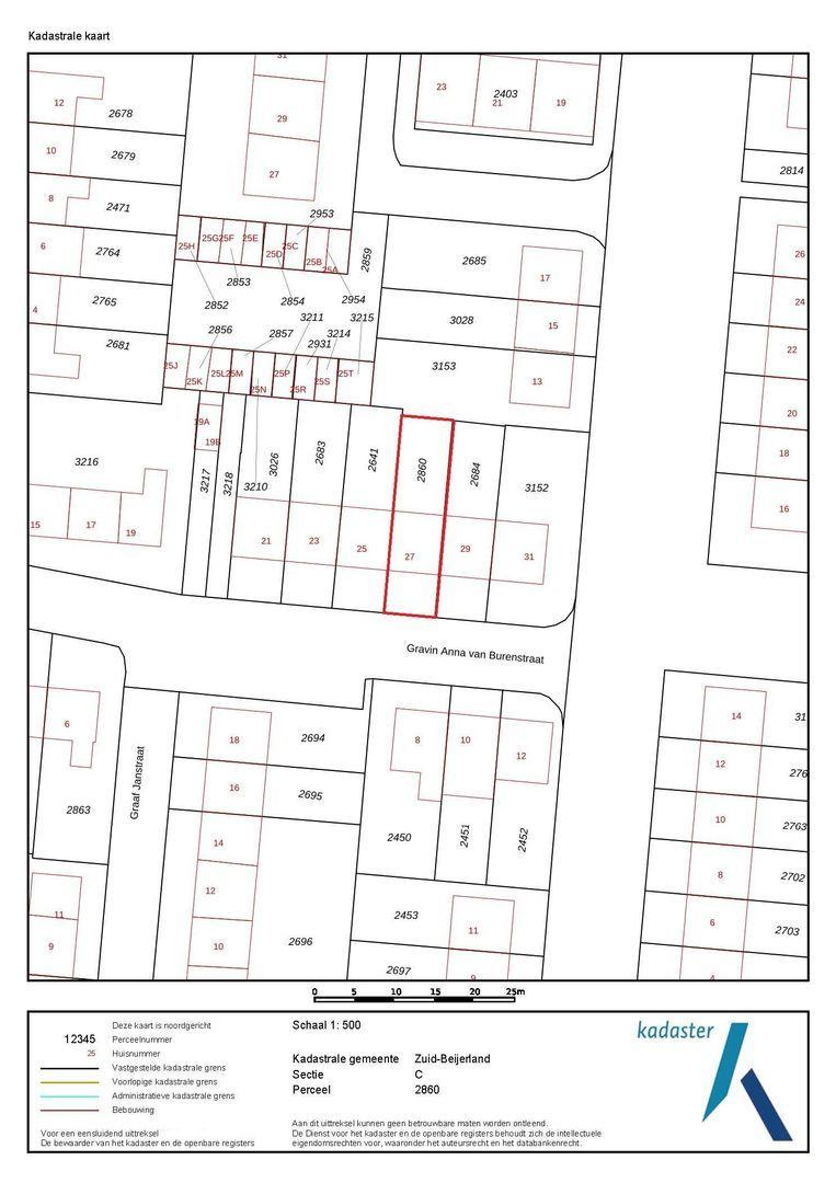 Gravin Anna van Burenstraat 27 plattegrond-27