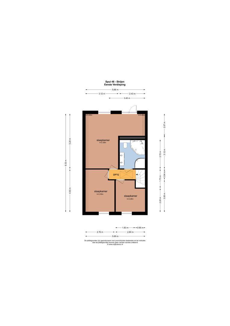 Spui 48 + 48a plattegrond-39