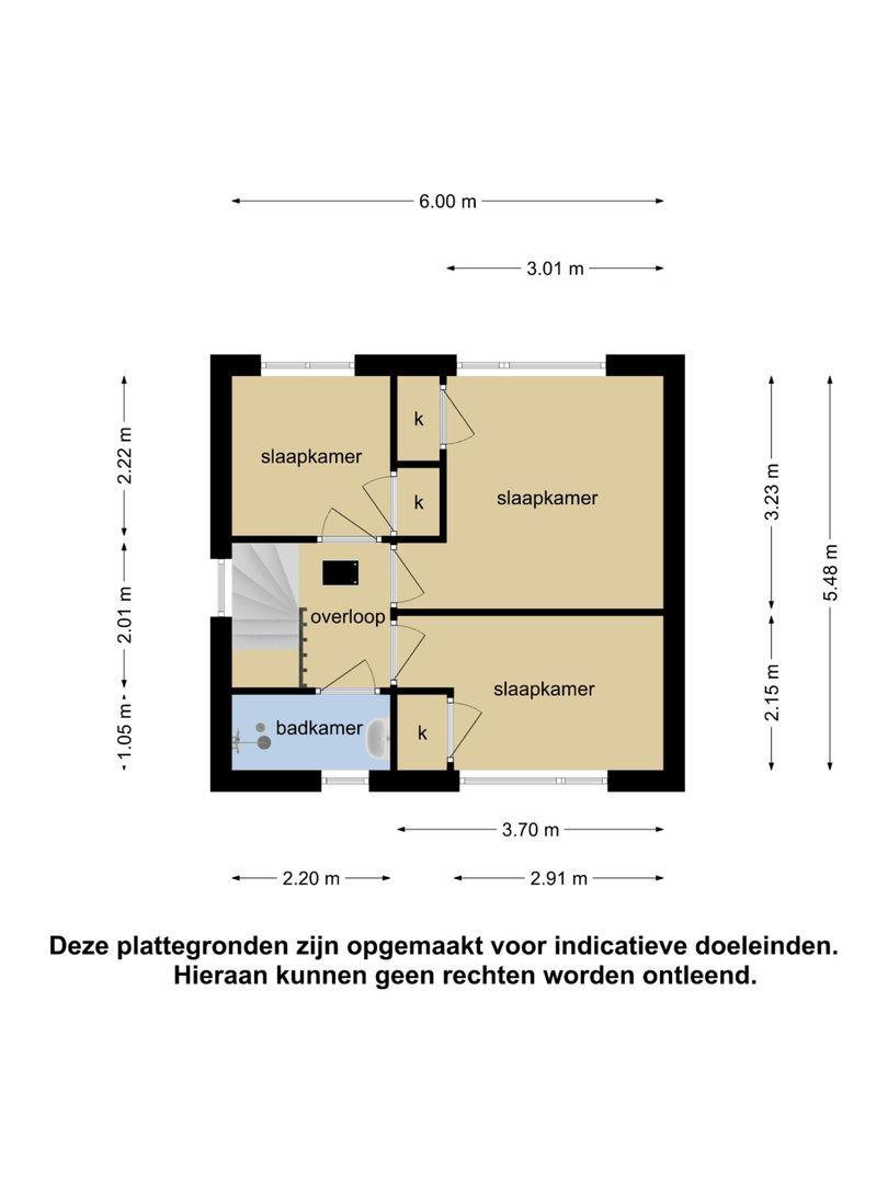 van der Doeslaan 3 plattegrond-21