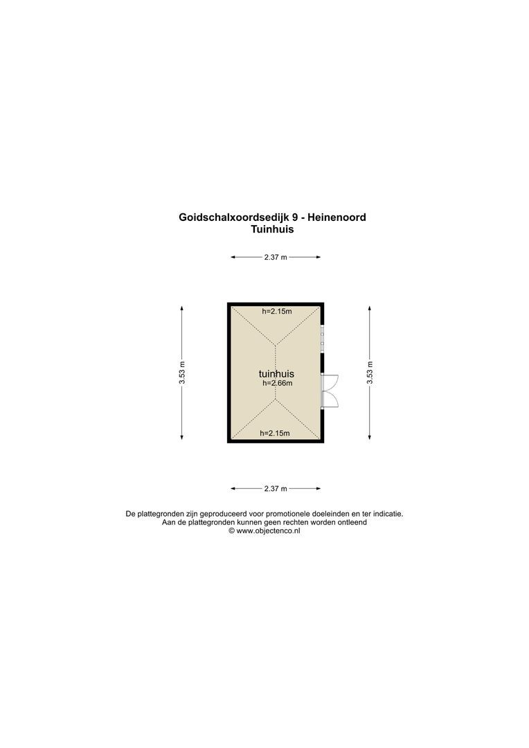 Goidschalxoordsedijk 9 plattegrond-28