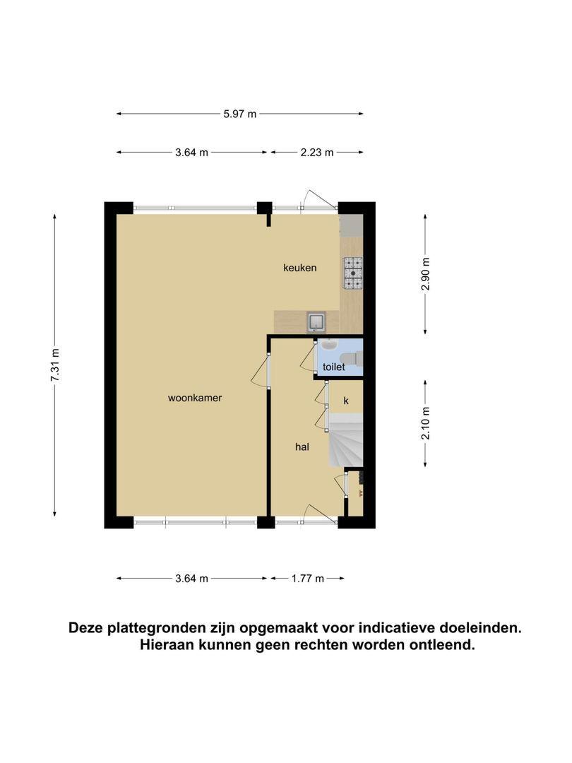 van Wassenaerstraat 11 plattegrond-24