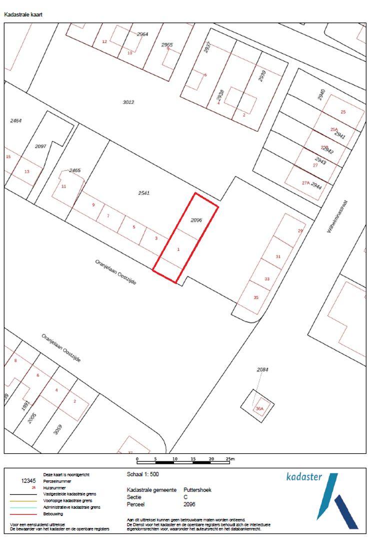 Oranjelaan Oostzijde 1 plattegrond-21