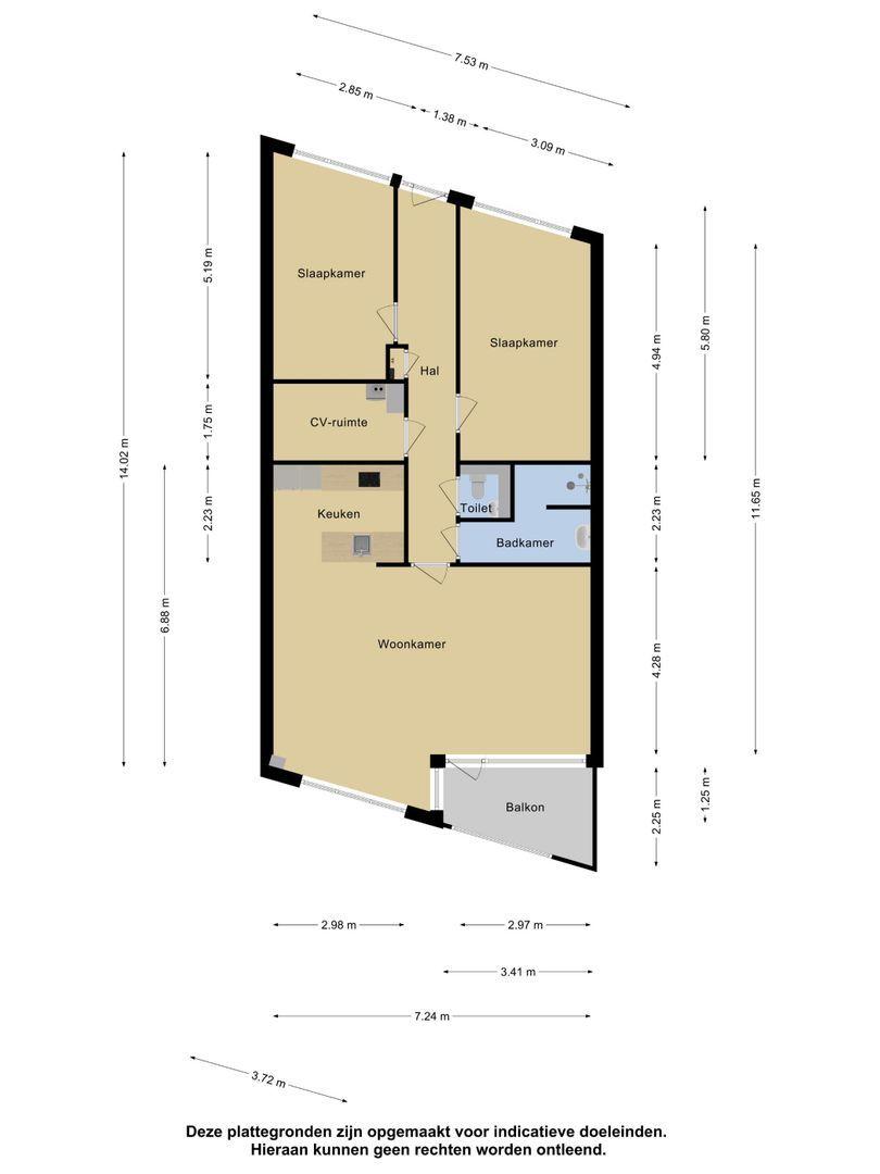 Wilhelminaplein 11 plattegrond-24